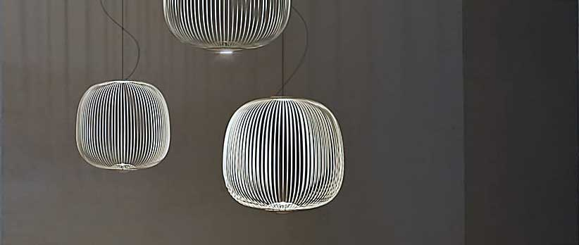 FOSCARINI Spokes 2 LED Design-Pendelleuchte